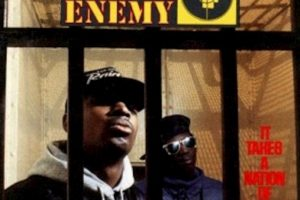 "Public Enemy, ""It Takes a Nation of Millions to Hold Us Back"" Foto: google.com. Imagen Por:"