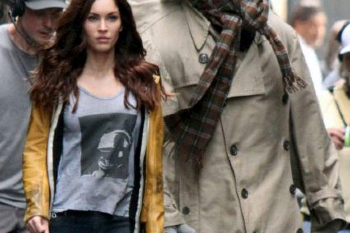 Megan Fox en el set de la película. Foto:tumblr.com. Imagen Por: