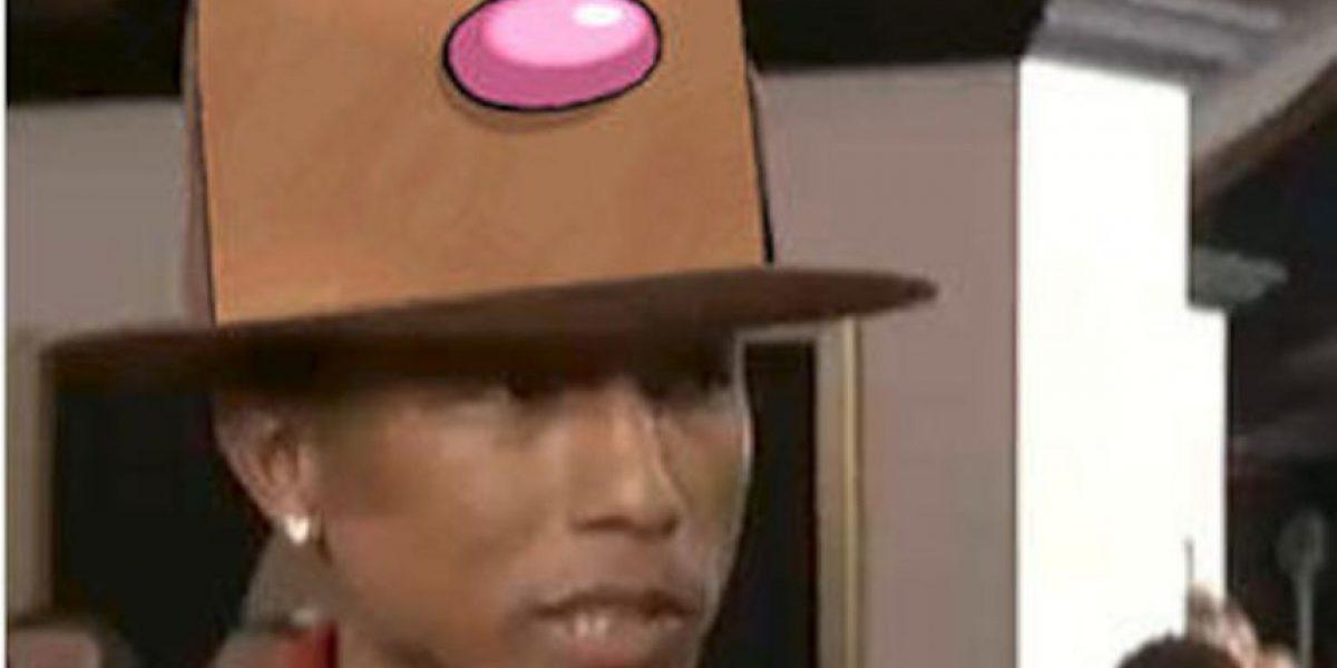 Compañía de Pharrell Williams se burla del enorme sombrero de su jefe en Youtube