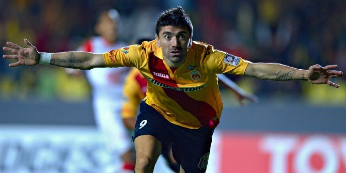 Es monarca: Mancilla anotó en victoria de Morelia ante Santa Fe por la Copa Libertadores