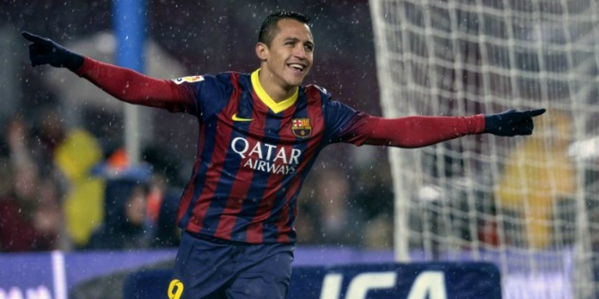 Video: ¡Alexis goleador! El doblete de Sánchez en la Copa del Rey