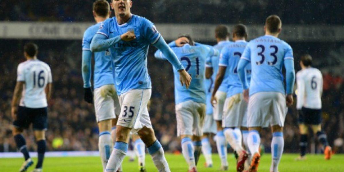 Video: Con estos cinco goles el Manchester City llegó a lo más alto en Inglaterra
