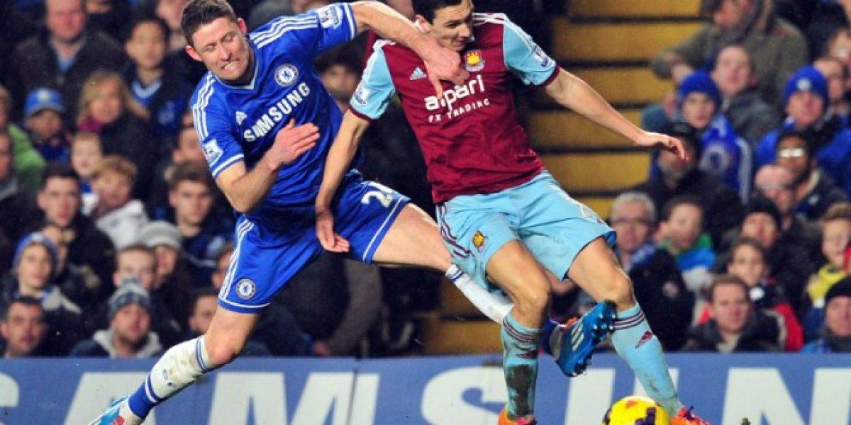 Chelsea solo logra un empate frente al West Ham y se estanca en el tercer lugar