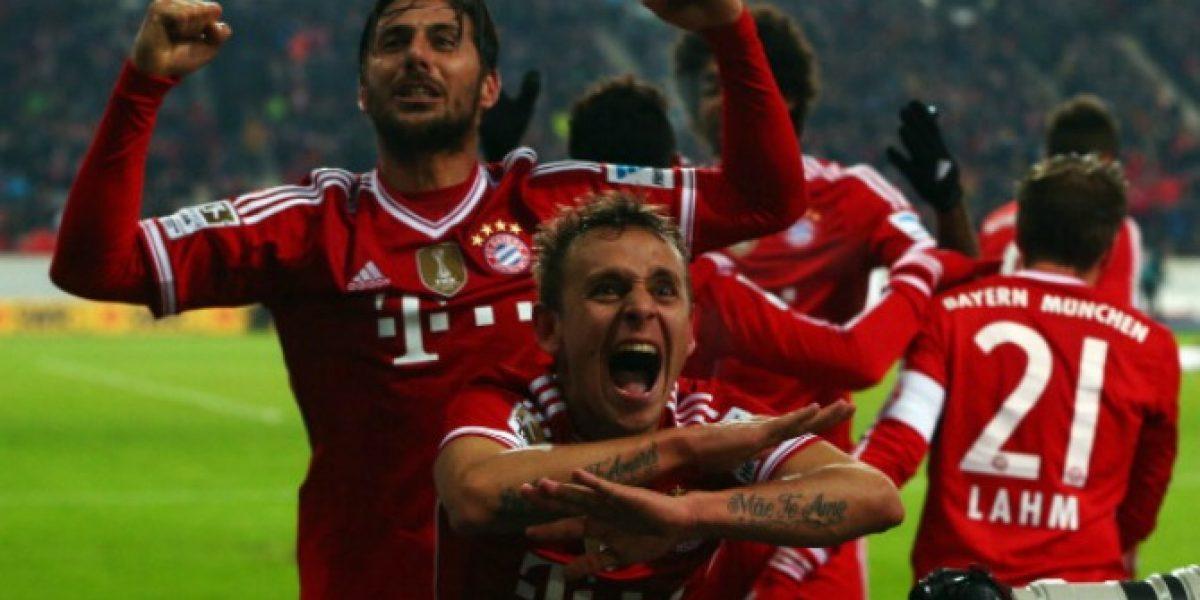 ¡Qué golazo! Bayern Munich ganó en la agonía gracias a esta espectacular