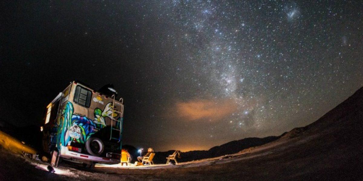 El Surfestival llegó con el cine playero hasta el altiplano de Tarapacá