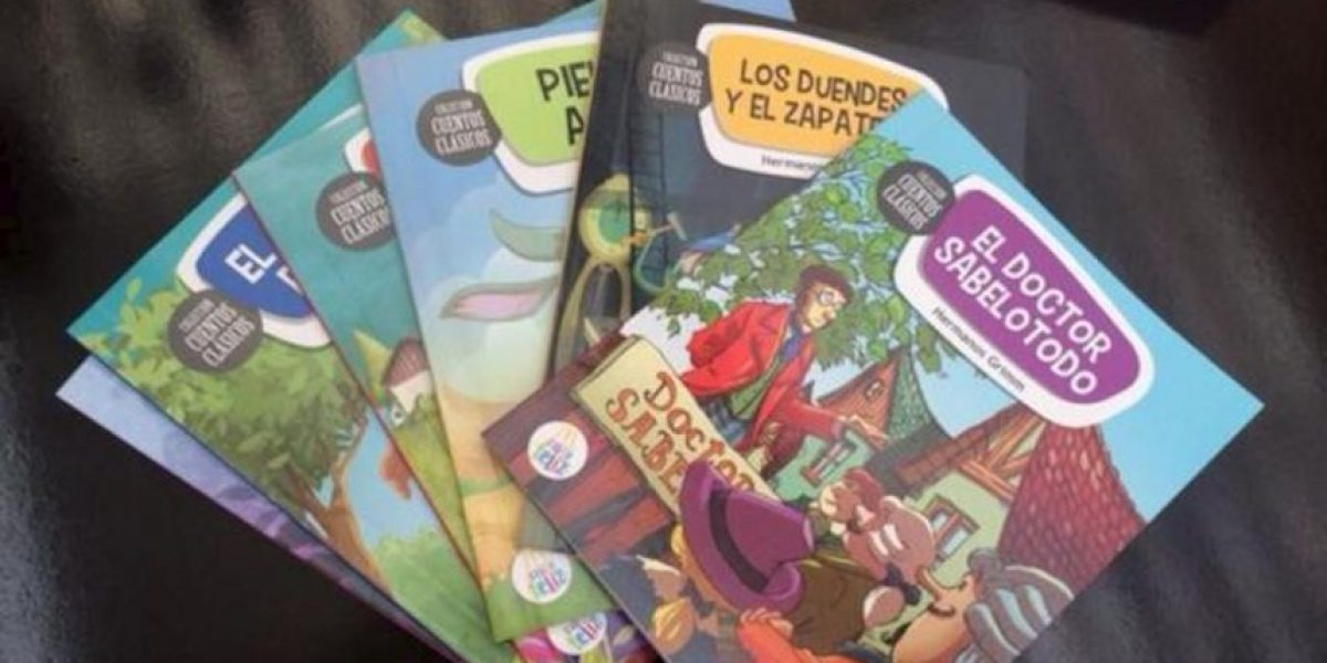 Cambian los juguetes por libros en la