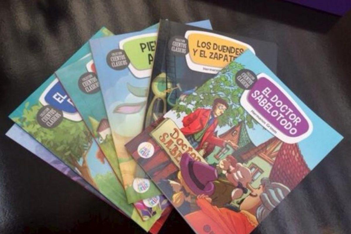 Los libros que se distribuirán. Foto:McDonald's. Imagen Por: