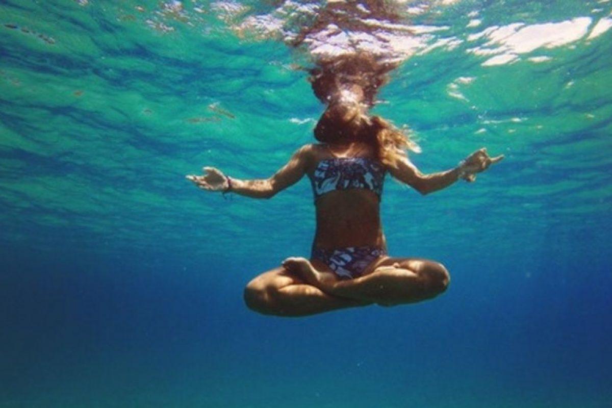 Cualquier lugar es ideal para meditar. Foto:Tumblr.com. Imagen Por: