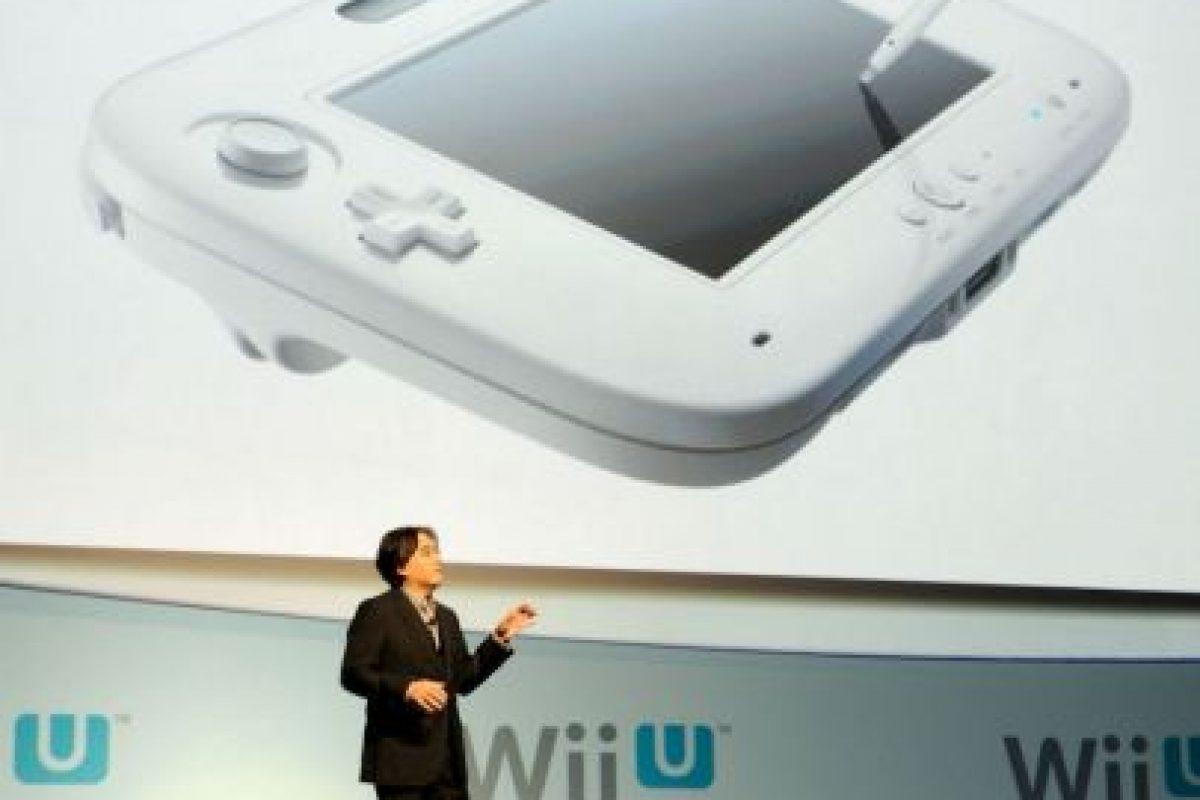 Satoru Iwata presentando el Wii U. Foto:getty images. Imagen Por: