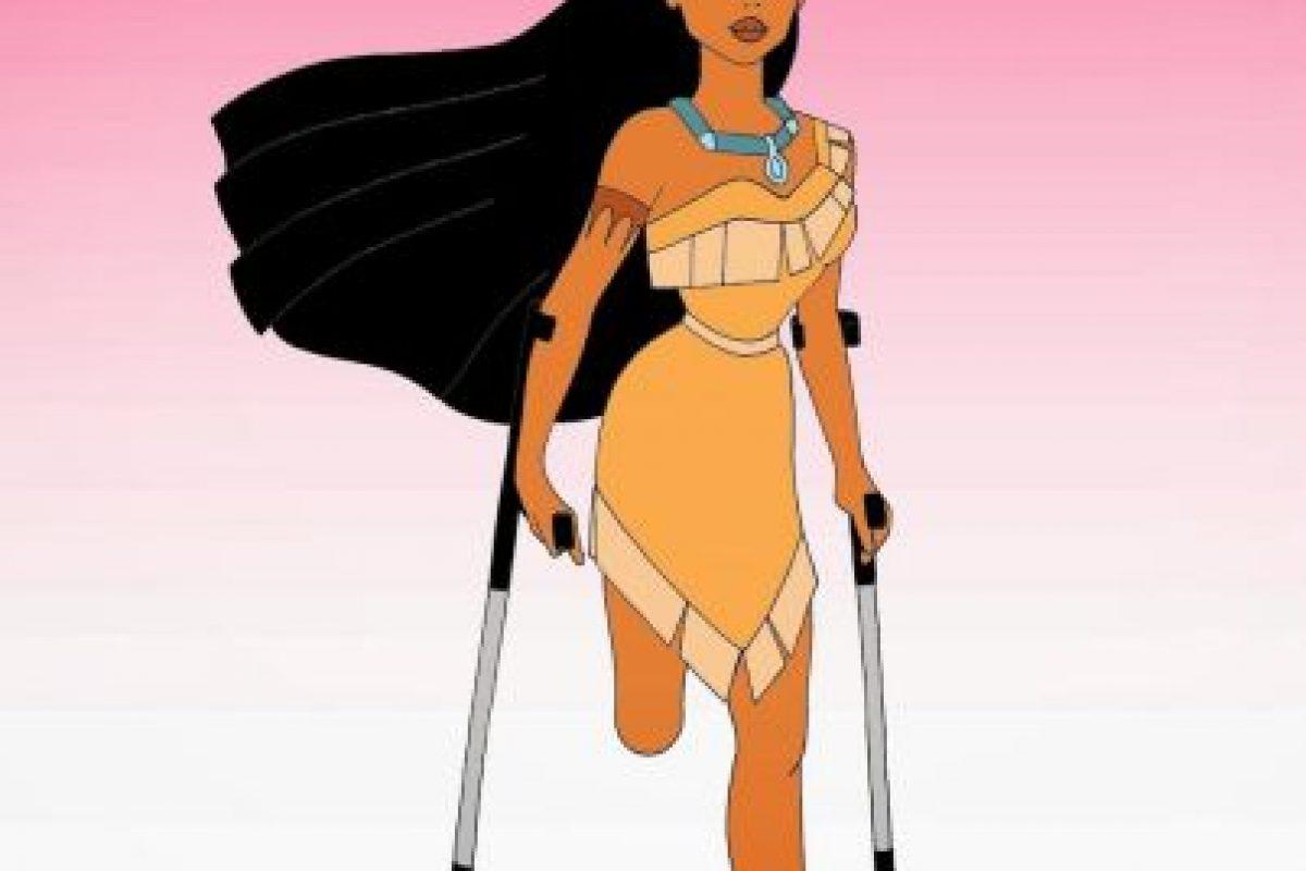 Pocahontas Foto:humorchic. Imagen Por: