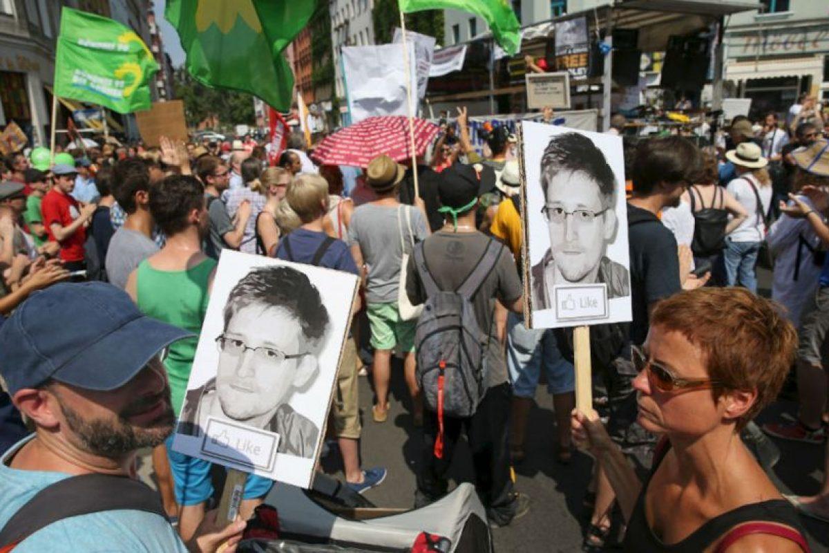 Snowden es referente alrededor del mundo. Foto:getty images. Imagen Por: