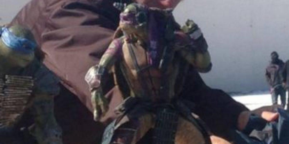 Así se ven las nuevas Tortugas Ninjas en la película de Michael Bay