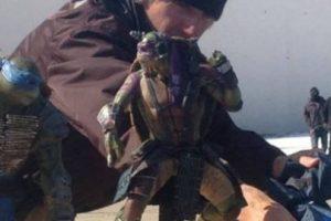 Donatello, Raphael y Michelangello han sido revelados Foto:twitter.com. Imagen Por: