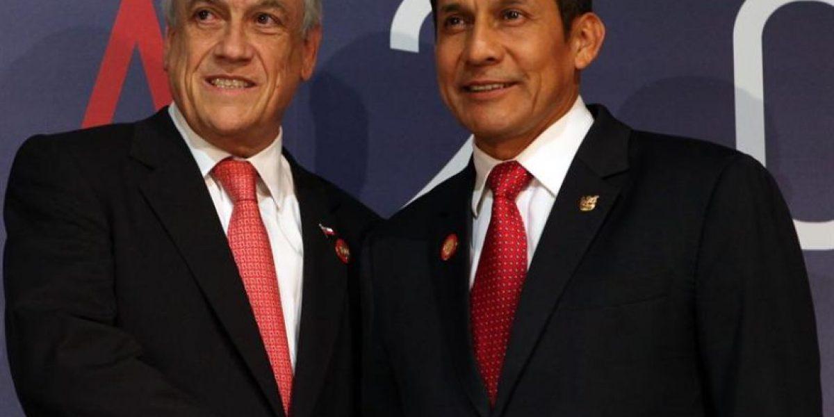 Galería: Así fue la reunión entre Piñera y Humala en la Celac