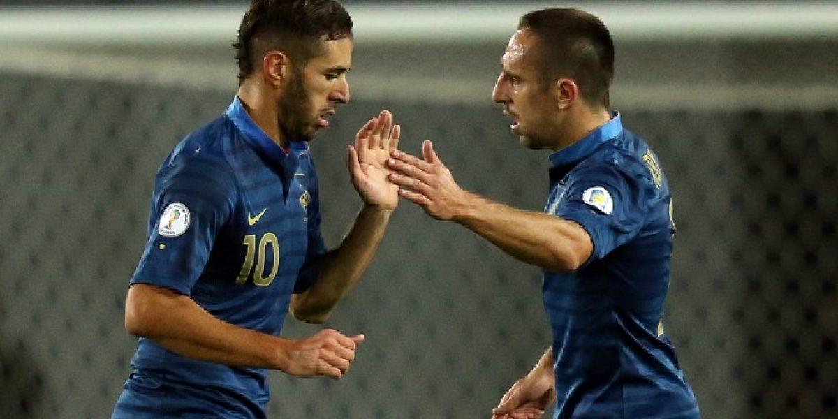 Benzema y Ribery fueron absueltos de la investigación en su contra por el caso