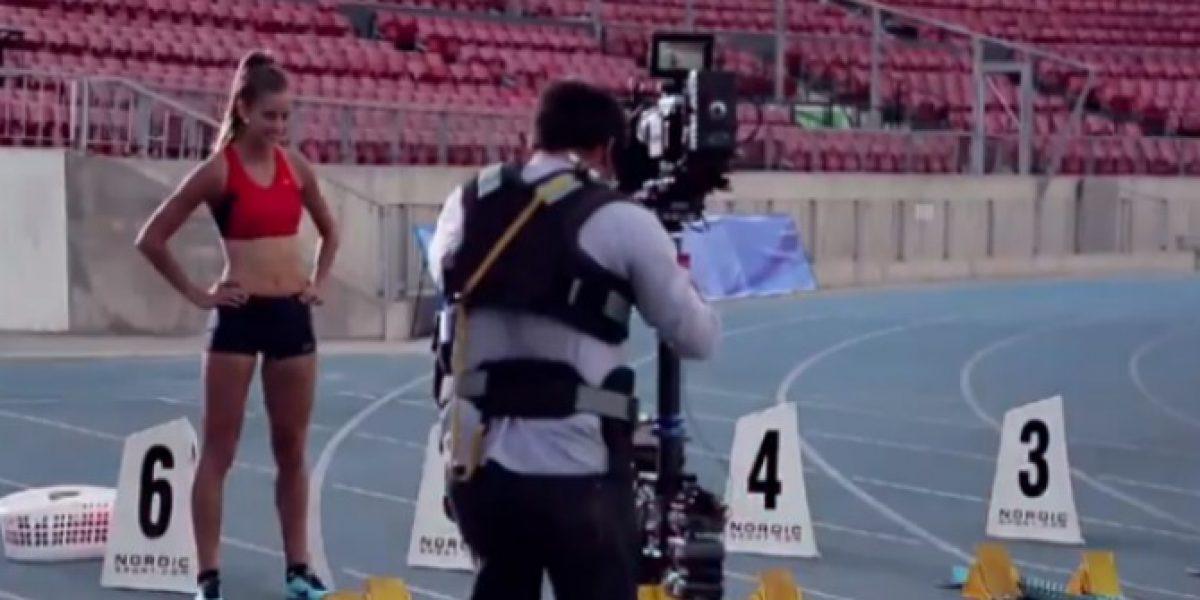 Video: Así se grabó el spot de los Juegos Suramericanos de Santiago