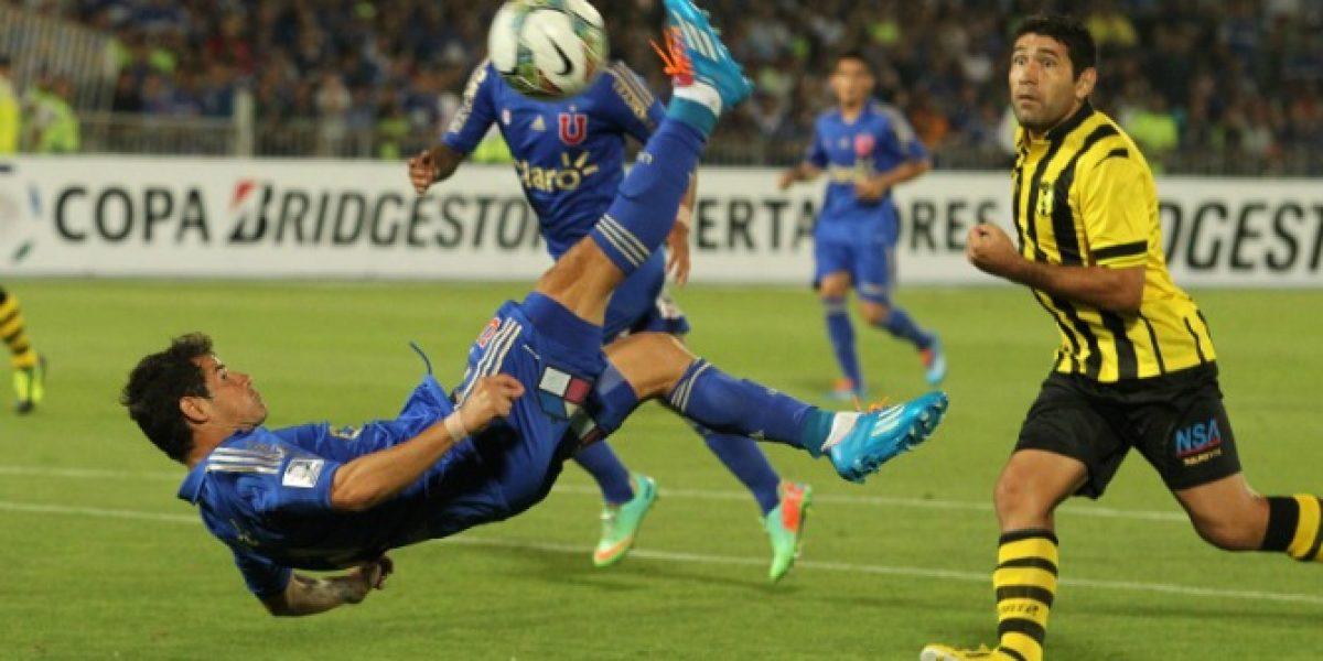Video: ¡Golaaaazo de Chilena! Así anotó Rodrigo Mora para la U en la Copa Libertadores