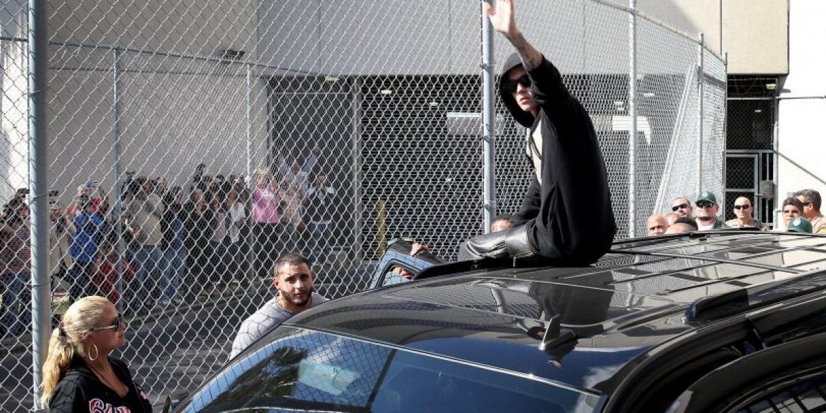 Policia confirma las sustancias que ingirió Justin Bieber el día de su detención en Miami