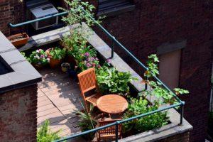 El balcón es un gran lugar para el jardín o huerto. Foto:Tumblr.com. Imagen Por: