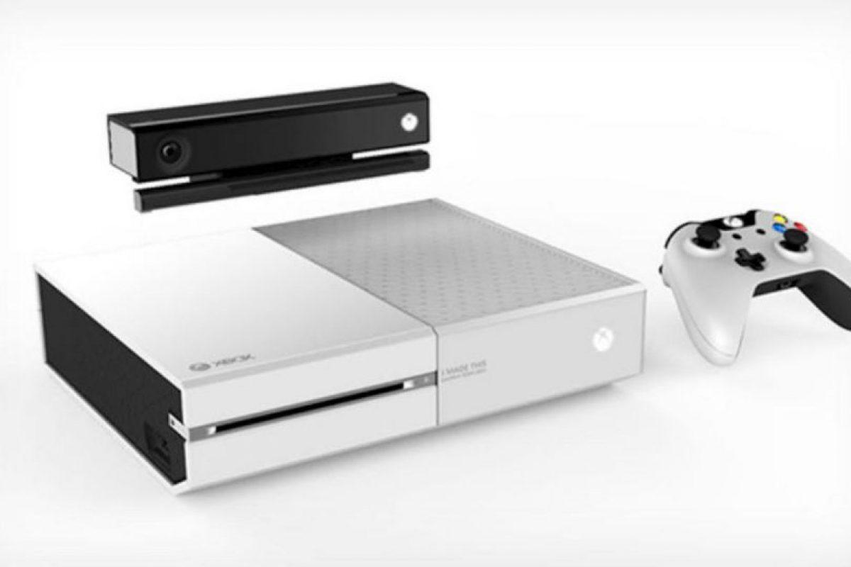 La posible consola Xbox One blanca. Foto:The Verge. Imagen Por:
