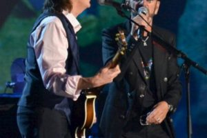 """""""The Night that changed América: A Grammy salute to the Beatles"""" se transmitirá el domingo 9 de febrero de 2014, mismo día y misma hora que el show de Ed Sullivan 50 años atrás. Foto:gettyimages.com. Imagen Por:"""