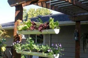 Si no tienes patio, terraza o un balcón, la azotea o una ventana pueden ser el lugar perfecto para colocar el huerto. Foto:Pinterest image. Imagen Por:
