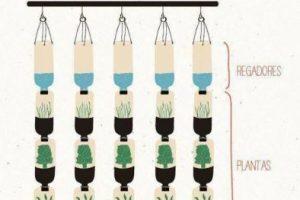 Debemos contar con recipientes para poner a nuestras futuras plantas. Reciclar botes o frascos puede ser una buena idea. Foto:Pinterest image. Imagen Por: