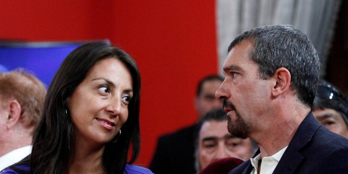 [FOTOS] La vocera Cecilia Pérez sucumbió ante los encantos de Antonio Banderas