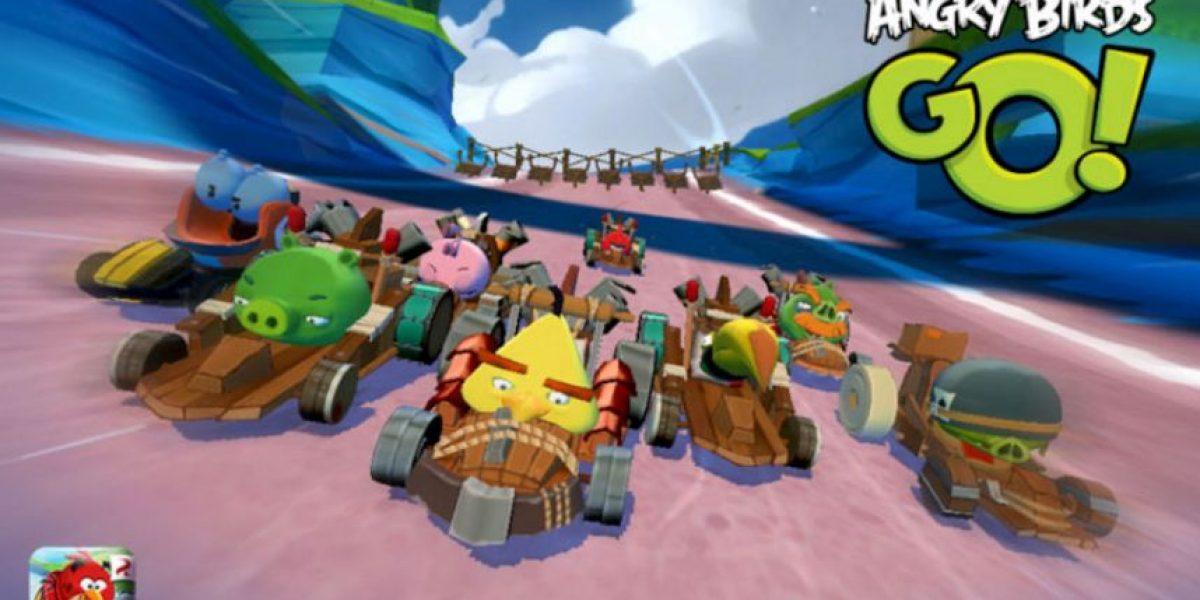 Angry Birds GO! destrona a Candy Crush como el juego más bajado en iPad y iPhone