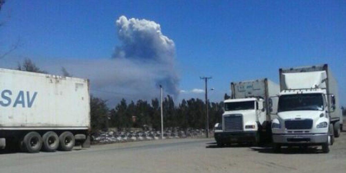 ONEMI mantiene alerta roja por dos incendios forestales en San Antonio