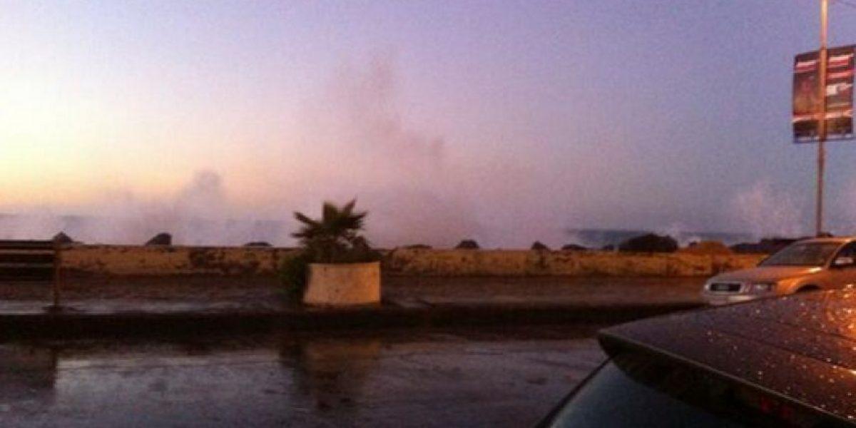 FOTOS: Fuertes marejadas azotan el borde costero de Viña del Mar