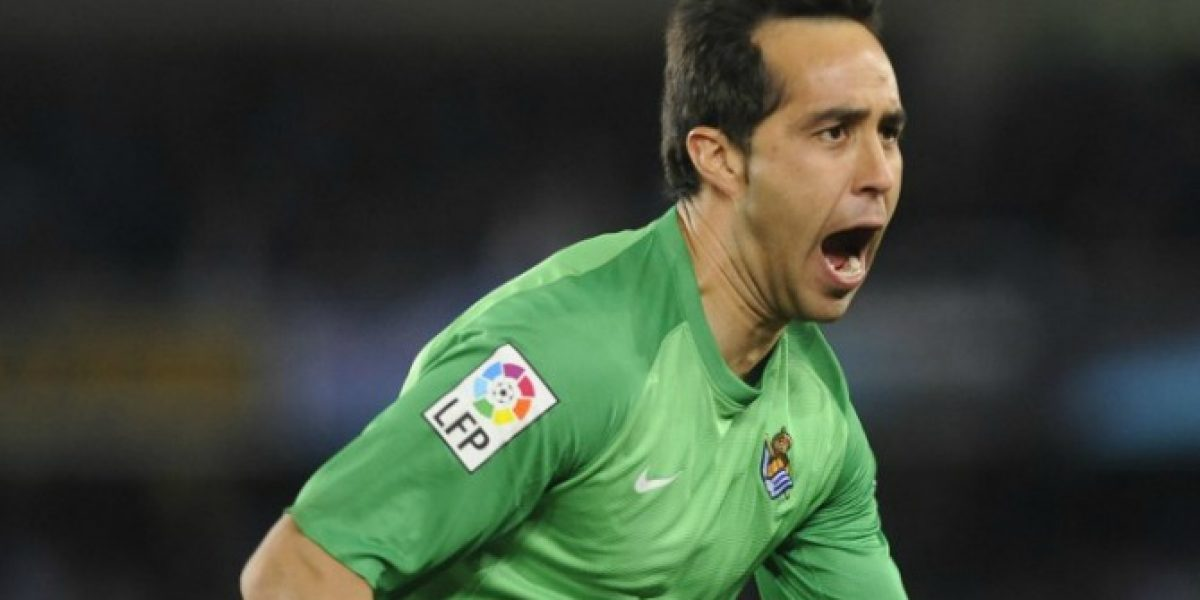 Claudio Bravo vuelve a ser opción para reforzar al Barcelona