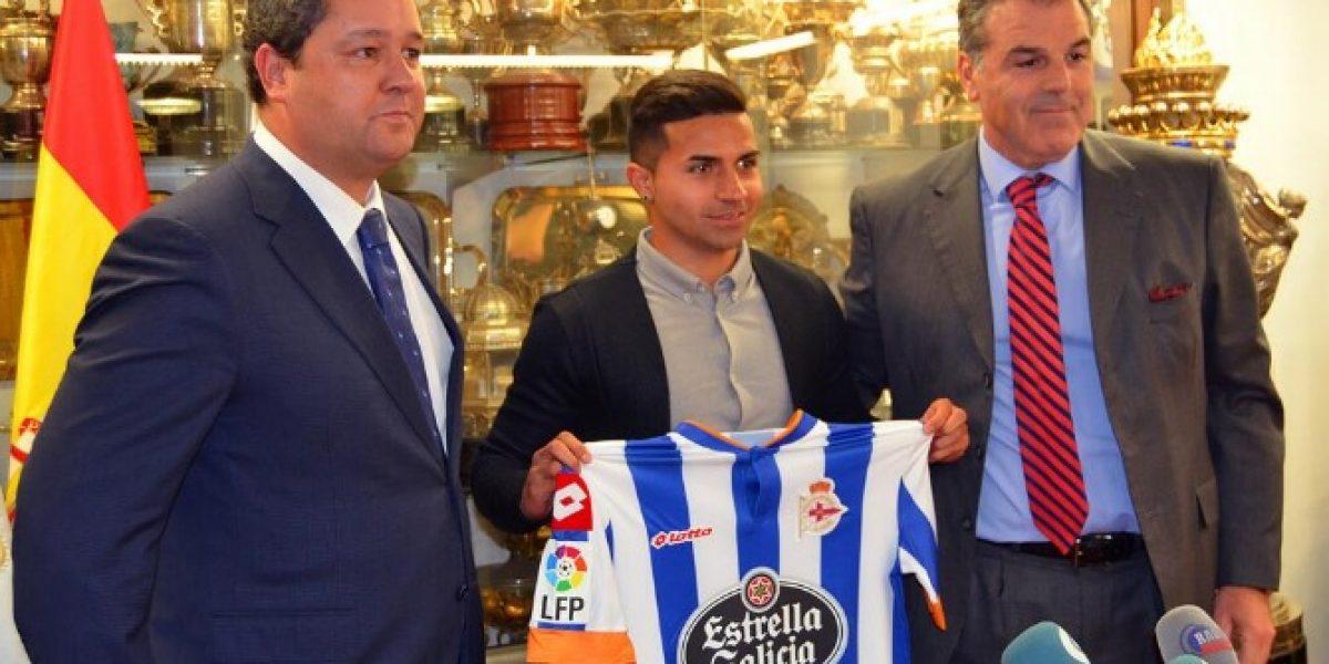Bryan Rabello podría debutar este fin de semana con el Deportivo La Coruña