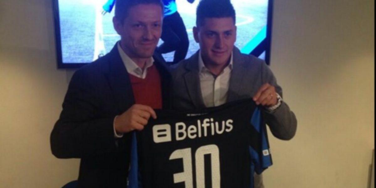 Nicolás Castillo y su llegada a Brujas: