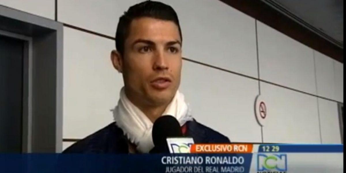 Cristiano Ronaldo envía apoyo a Falcao: