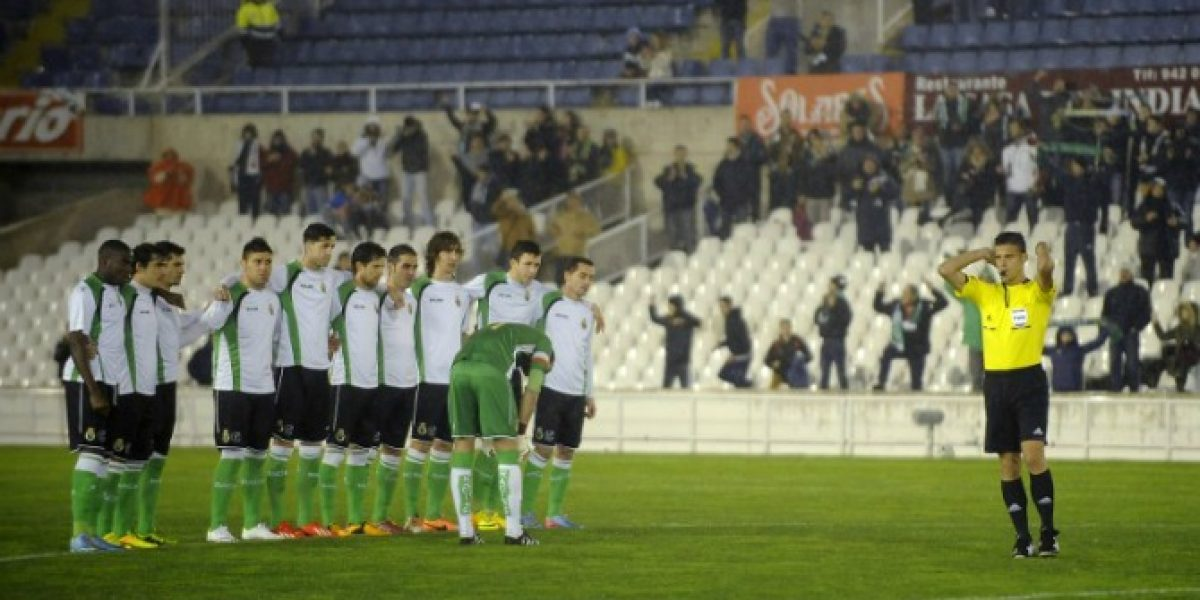 El fútbol español se unió para entregar su apoyo a los jugadores del Racing