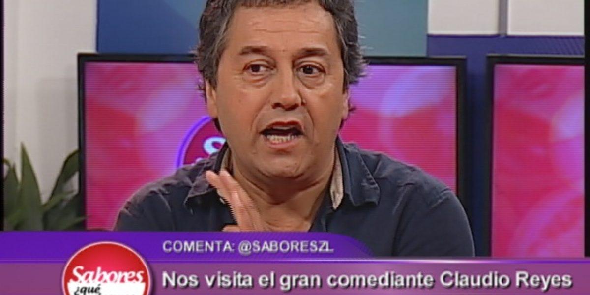Claudio Reyes crítica programa de humor y habla de sus deseos de ir a Viña