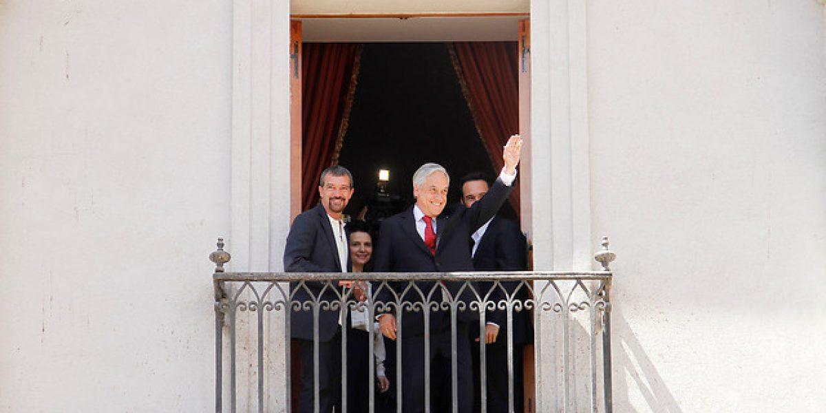 Antonio Banderas en La Moneda:
