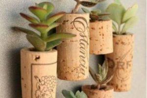 Ciertas plantas pueden ir en recipientes pequeños Foto:Pinterest image. Imagen Por:
