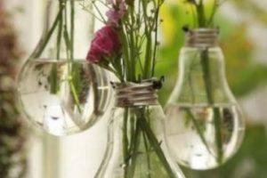 Pueden ir en bombillas o ampolletas que ya no sirvan Foto:Pinterest image. Imagen Por: