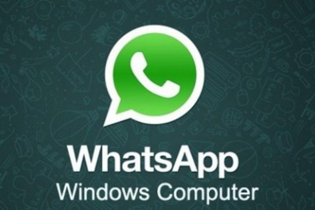 No existe WhatsApp para PC. Foto:Facebook. Imagen Por: