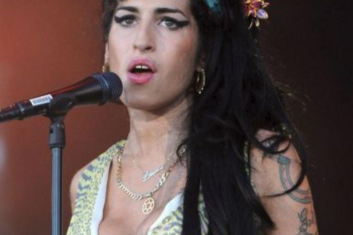 La cantante británica Amy Winehouse fue encontrada muerta en su apartamento de Londres en julio de 2011 Foto:Getty Images. Imagen Por: