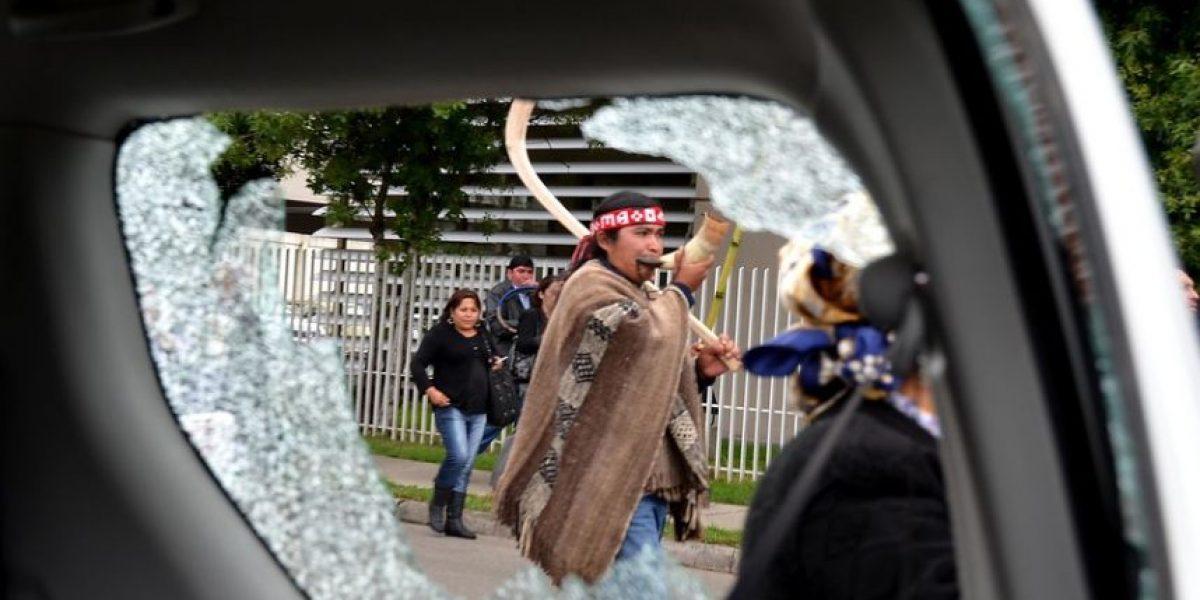 [FOTOS] Incidentes marcan inicio de juicio contra Celestino Córdova en Temuco