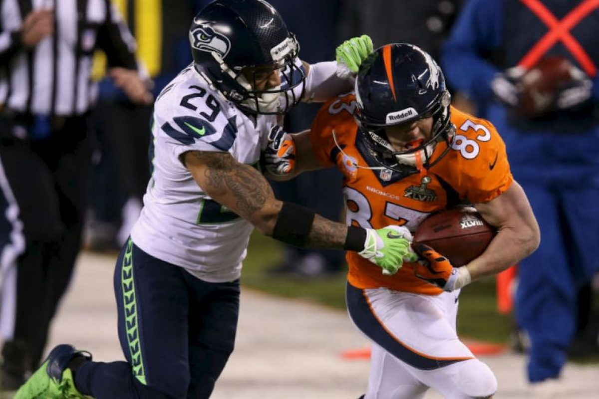 Denver no pudo con la defensa de Seattle. Foto:getty images. Imagen Por: