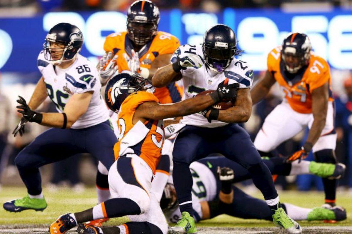 Y la defensa de Denver no pudo con la ofensiva de Seattle. Foto:getty images. Imagen Por:
