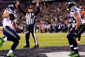 Seattle Campeones por primera vez del Super Bowl. Foto:AFP. Imagen Por: