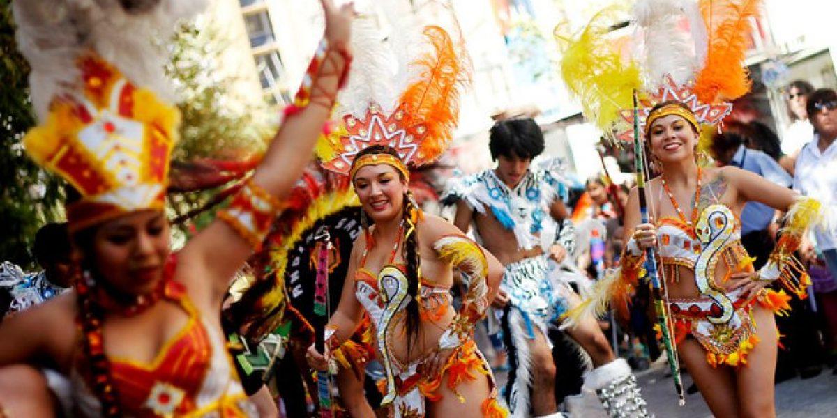 GALERÍA: Así se vivió el Carnaval de Arica en Santiago