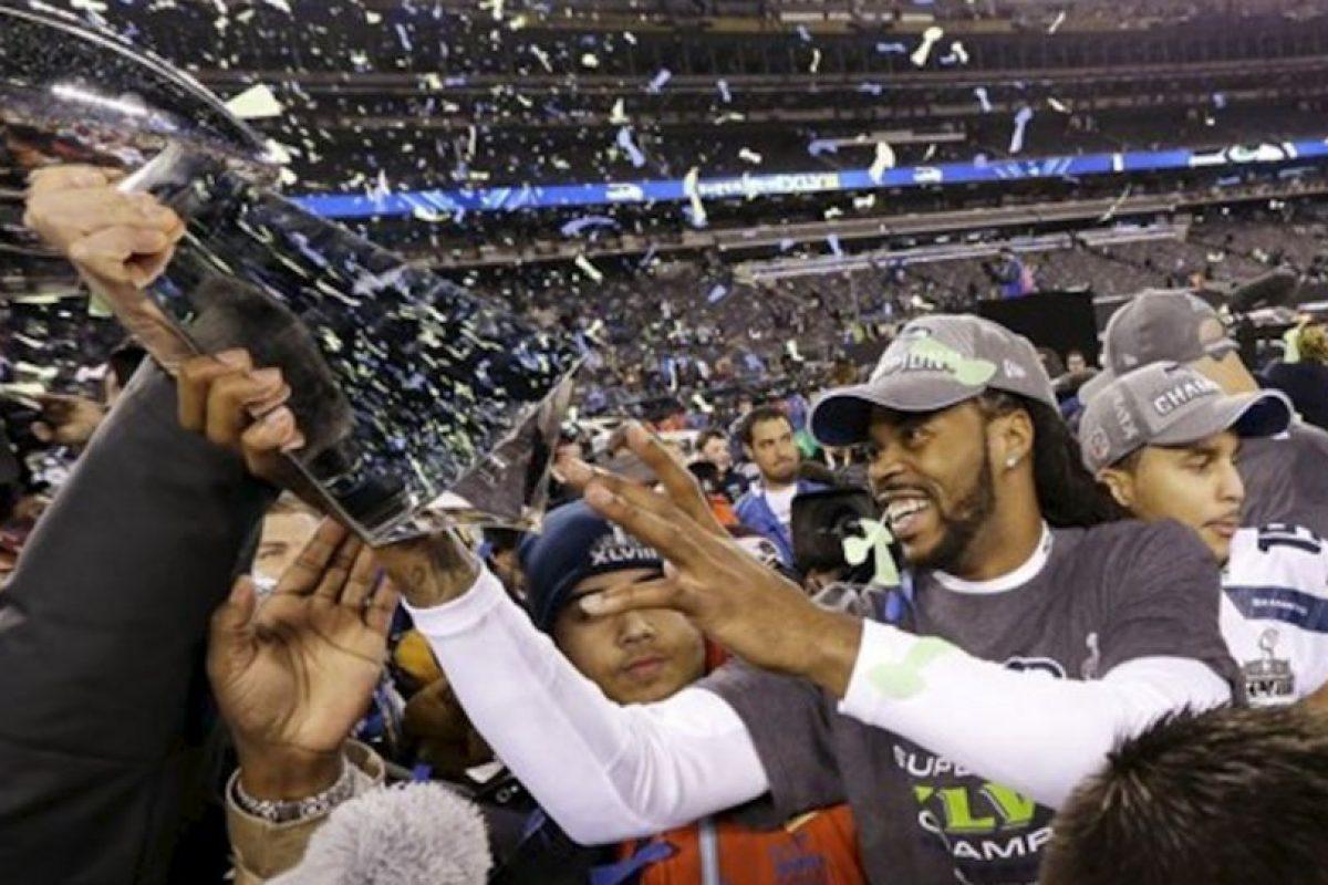 Los Seattle Seahawks son los nuevos campeones de la NFL Foto:AP. Imagen Por: