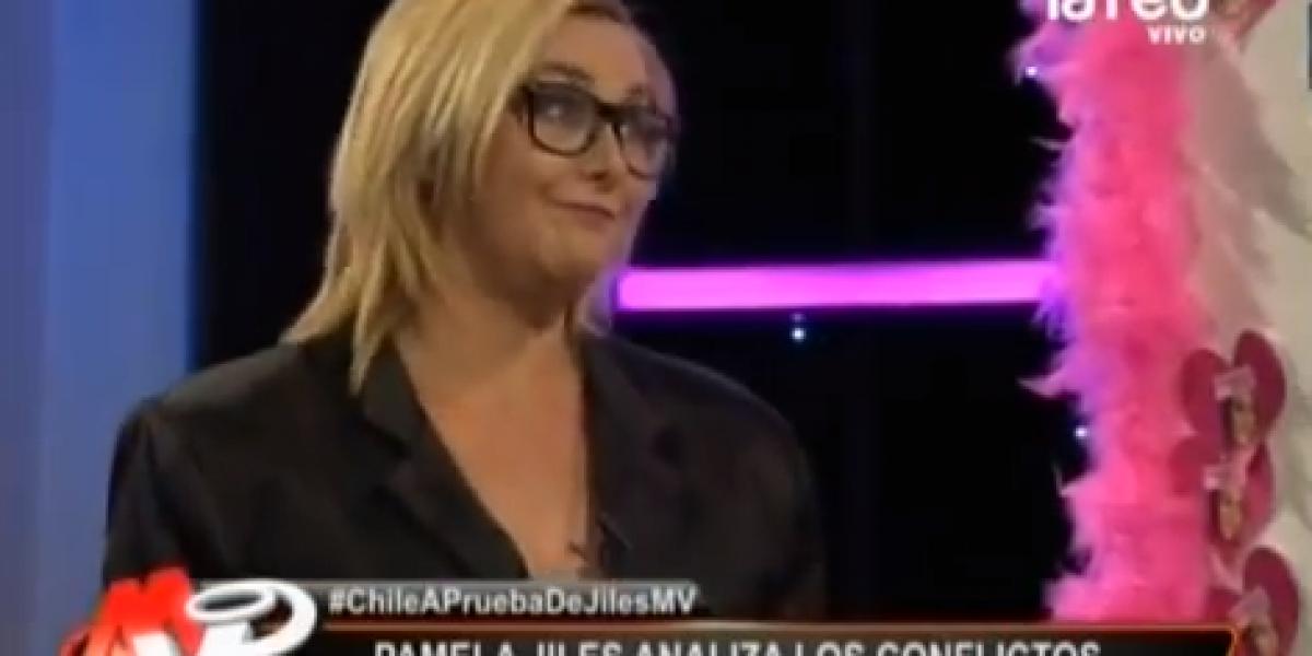 Pamela Jiles pronosticó la renuncia de Claudia Peirano