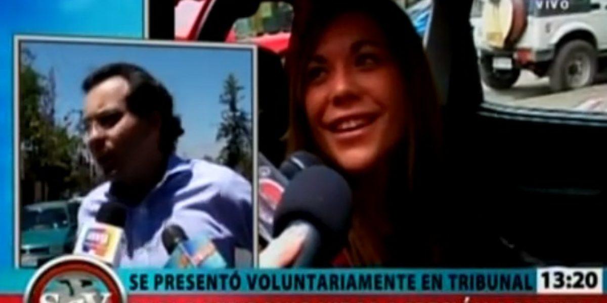 Esposo de Daniela Bonvallet niega haberla agredido